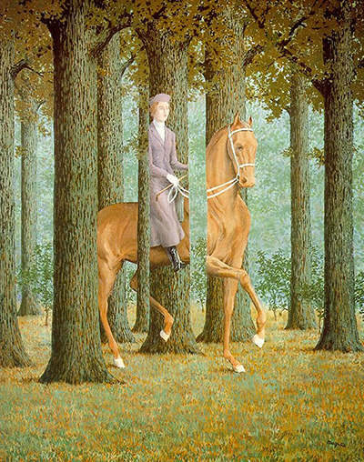 The Blank Signature Rene Magritte