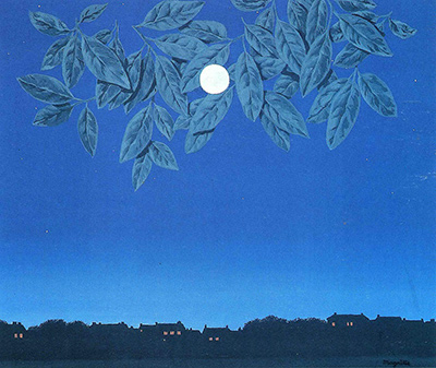 The White Page Rene Magritte